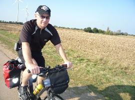Selbst leidenschaftlicher Radfahrer